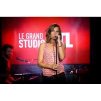 "Logo of the podcast Zazie en concert dans ""Le Grand Studio RTL"""