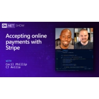 Logo of the podcast Accepting online payments with Stripe | On .NET