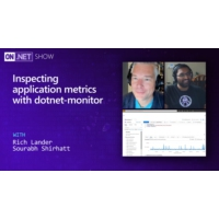 Logo of the podcast Inspecting application metrics with dotnet-monitor | On .NET