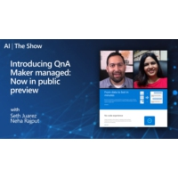 Logo of the podcast Introducing QnA managed: Now in Public Preview | AI Show