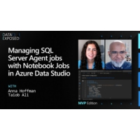 Logo of the podcast Managing SQL Server Agent Jobs with Notebook Jobs in Azure Data Studio | Data Exposed