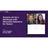 Logo of the podcast Anyone can be a developer with Microsoft Dataverse for Teams! | The Solutions Show with Corey