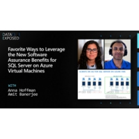 Logo of the podcast New Software Assurance Benefits for SQL Server on Azure Virtual Machines | Data Exposed