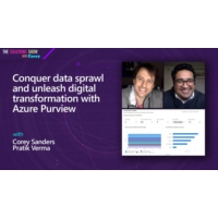 Logo of the podcast Conquer data sprawl and unleash digital transformation with Azure Purview | The Solutions Show with…