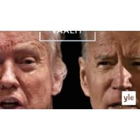 Logo du podcast Yhdysvallat käy kohti vaaleja entistä jakaantuneempana