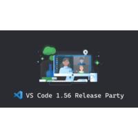 Logo du podcast VS Code 1.56 Release Party 🎉   VS Code Livestreams