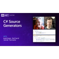 Logo du podcast C# Source Generators | On .NET