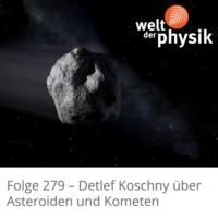 Logo of the podcast Folge 279 – Asteroiden und Kometen