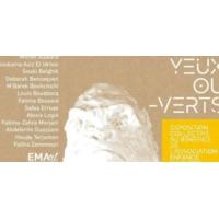 """Logo of the podcast """"#Les Yeux Ou Verts"""" au profit de la formation."""
