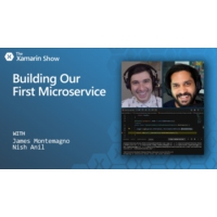 Logo du podcast Building Our First Microservice | The Xamarin Show | The Xamarin Show