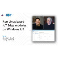 Logo of the podcast Run Linux based IoT Edge modules on Windows IoT | Internet of Things Show