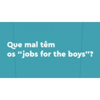 "Logo du podcast Que mal têm os ""jobs for the boys""?"