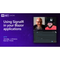 Logo of the podcast Using SignalR in your Blazor applications | On .NET