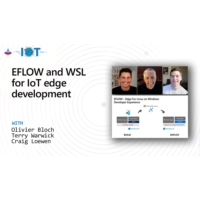 Logo of the podcast EFLOW and WSL for IoT edge development | Internet of Things Show