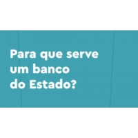 Logo du podcast Para que serve um banco do Estado?