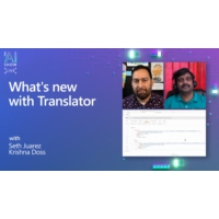 Logo of the podcast What's new with Translator | AI Show