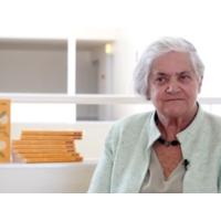 """Logo du podcast Palavra de Autor #22 Leonor Xavier: """"Ainda não sabemos o que fazer aos velhos"""""""