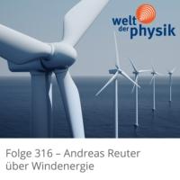 Logo of the podcast Folge 316 – Windenergie