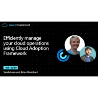 Logo du podcast Efficiently manage your cloud operations using Cloud Adoption Framework   | Azure Enablement