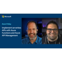 Logo of the podcast Implement serverless APIs with Azure Functions and Azure API Management | Azure Friday
