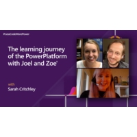 Logo of the podcast The learning journey of the PowerPlatform with Zoe Leichty-Wireman and Joel Leichty | #LessCodeMore…