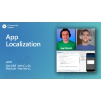 Logo du podcast App Localization (Xamarin Community Toolkit) | The Xamarin Show