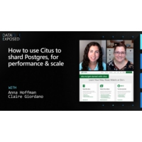 Logo of the podcast How to Use Citus to Shard Postgres, for Performance & Scale | Data Exposed