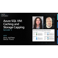 Logo of the podcast Azure SQL VM: Caching and Storage Capping (Ep. 1) | Data Exposed