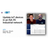 Logo du podcast Update IoT devices in an ISA-95 Industrial network | Internet of Things Show