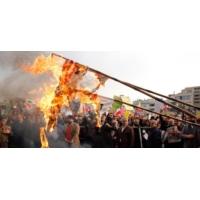 Logo of the podcast Manifestations massives : le tour de l'Iran.