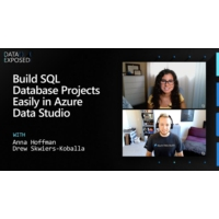 Logo of the podcast Build SQL Database Projects Easily in Azure Data Studio  | Data Exposed