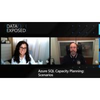 Logo of the podcast Azure SQL Capacity Planning: Scenarios  | Data Exposed