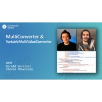 Logo du podcast Xamarin Community Toolkit - MultiConverter & VariableMultiValueConverter | The Xamarin Show