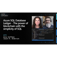 Logo of the podcast Azure SQL Database Ledger - The power of blockchain with the simplicity of SQL | Data Exposed