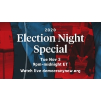 Logo du podcast Election Night 2020 Coverage with Democracy Now!