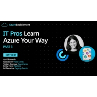 Logo of the podcast IT Pros: Learn Azure Your Way Pt. 3 | Azure Enablement