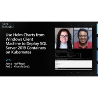 Logo du podcast Use Helm Charts from Windows Client Machine to Deploy SQL Server 2019 Containers on Kubernetes | Da…