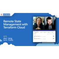 Logo of the podcast Remote State Management with Terraform Cloud | The DevOps Lab