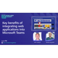 Logo of the podcast Key benefits of integrating web applications into Microsoft Teams | Learn Together: Developing Apps…