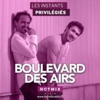 Logo of the podcast BOULEVARD DES AIRS interview dans Les Instants Privilégiés Hotmixradio.