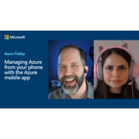 Logo of the podcast Managing Azure from your phone with the Azure mobile app | Azure Friday