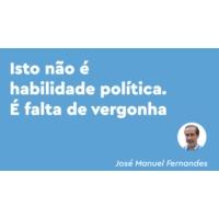 Logo of the podcast Fogos: um governo arrogante que nem pede desculpa