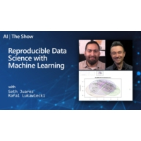 Logo of the podcast Reproducible Data Science with Machine Learning | AI Show