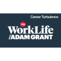 Logo of the podcast Navigating career turbulence | WorkLife with Adam Grant
