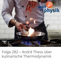 Logo of the podcast Folge 282 – Kulinarische Thermodynamik