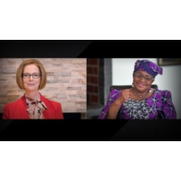 Logo du podcast 6 essential lessons for women leaders  | Julia Gillard and Ngozi Okonjo-Iweala