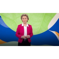 Logo du podcast Europe's plan to become the first carbon-neutral continent | Ursula von der Leyen