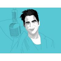 """Logo du podcast Jel: """"O humor em Portugal é elitista, confinado a quem teve uma vida burguesa. Não há pretos, cigan…"""