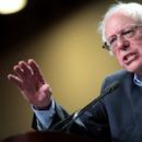 Logo of the podcast Bernie Sanders Thinks Democrats Are Still Way Off-Course
