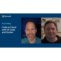 Logo of the podcast Code to Cloud with VS Code and Docker | Azure Friday